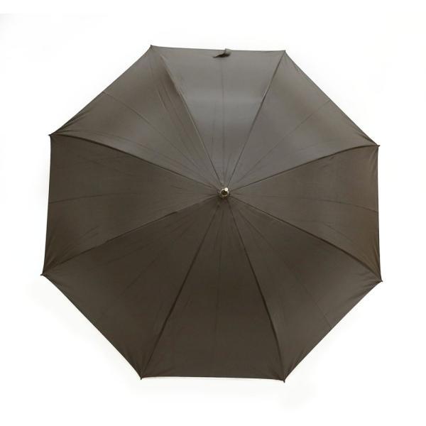 日傘 晴雨兼用傘 男女お使いいただける ジャンプ傘 グラスファイバー ブラック#672x1本/送料無料|kawanetjigyoubu|08