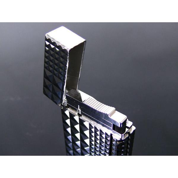 デュポン ライター ライン2 ダイアモンドヘッド パラディウムプレート 016066