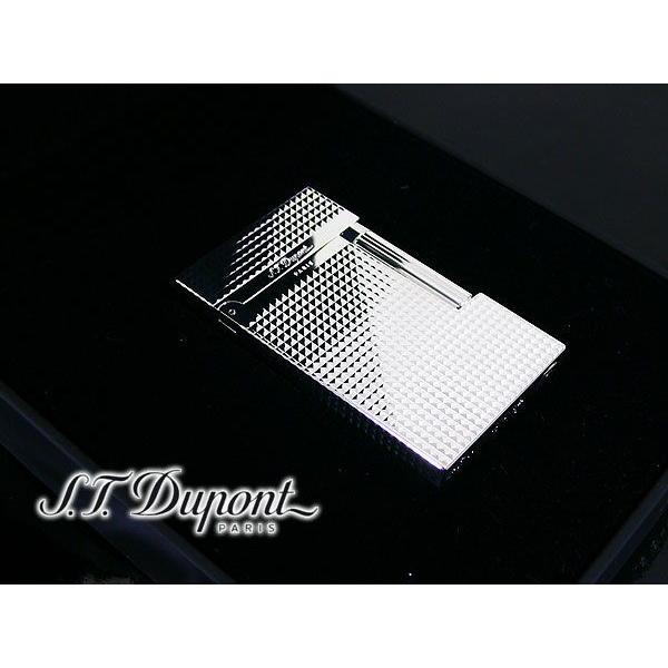 デュポン ダブルフレーム仕様 ライター LIGNE2 ダイヤカット #016184/送料無料