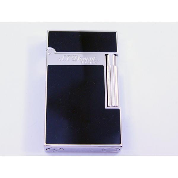 デュポン ダブルフレーム仕様 ライター 黒漆ブラック 016296 ライン2