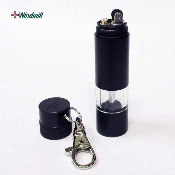 ウインドミル大容量二層式オイルタンクライター フィールドマックス アルミニウムブラック WFM-1001/送料無料