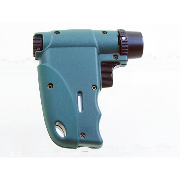 ウインドミル ターボライター キャンパー3(ガンタイプ ファイヤースターター)グリーンW14-0003/送料無料