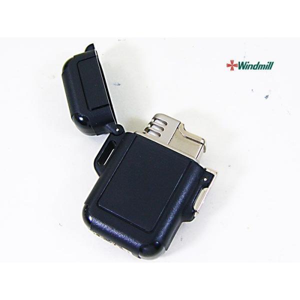 ウインドミル ターボライター Zag ブラック(0009)x1個/送料無料