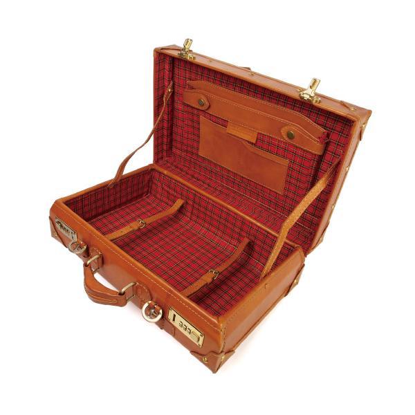 トランクケース 40cmサイズ ヌメ革 本体 本革 牛革 A4対応 ビジネス ハンドメイド ベジタブルタンニンなめし|kawanobag|05