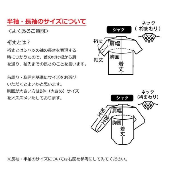 スクールシャツ 学生服 男子 長袖 トンボ カッターシャツ 2枚 組形態安定加工 抗菌防臭加工|kawatoh|11