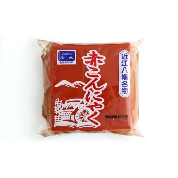 赤こんにゃく 近江八幡名物 国産原料使用 滋賀県 |kawatora|02