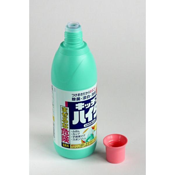 台所用漂白剤 キッチン ハイター 600ml|kawauchi|03