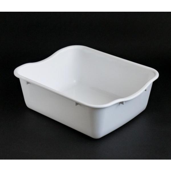 水切りケース 35×29×高さ12cm マットホワイト|kawauchi