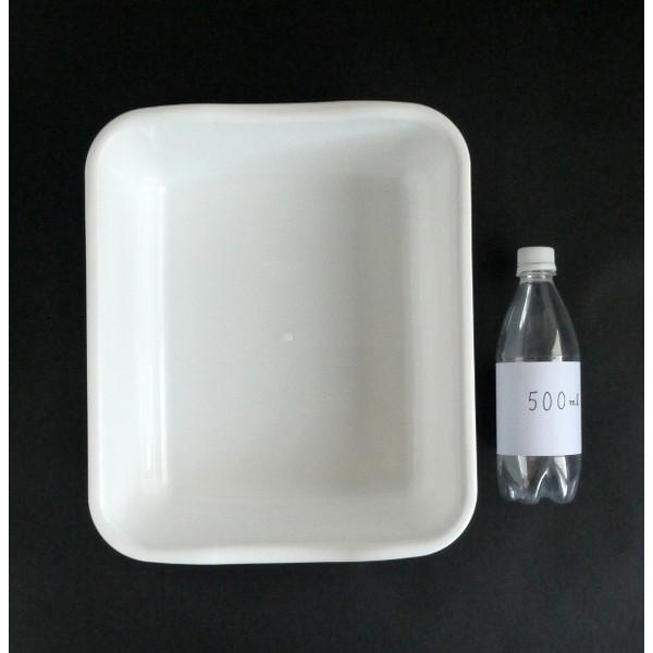 水切りケース 35×29×高さ12cm マットホワイト|kawauchi|02