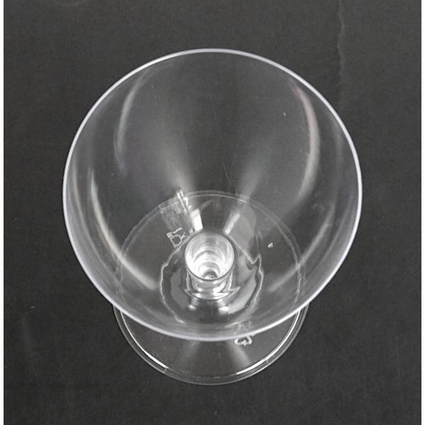 ワイングラス プラスチック製 満量180ml クリア 5個入|kawauchi|05