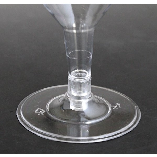 ワイングラス プラスチック製 満量180ml クリア 5個入|kawauchi|07