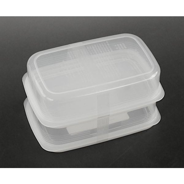 食品用シール容器 しっかりパック 満量450ml 2個入 kawauchi 12