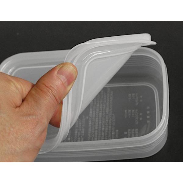 食品用シール容器 しっかりパック 満量450ml 2個入 kawauchi 07
