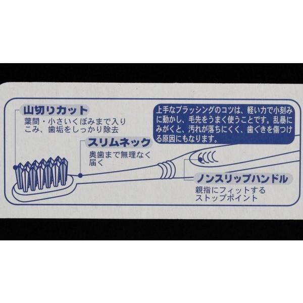 歯ブラシ デンタルハイパー ふつう 山切りカット|kawauchi|04