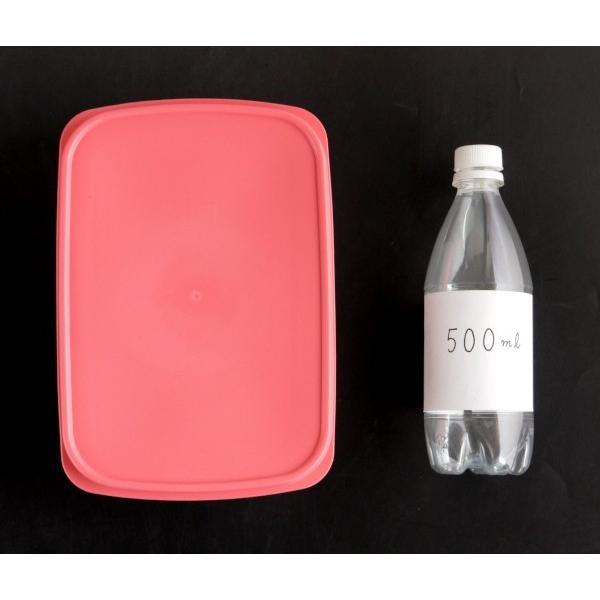 保存容器 フィットインパック 2200ml ピーチ|kawauchi|02