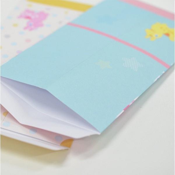 金封 出産御祝用 3枚入 ベビーロディ [色柄指定不可]|kawauchi|04