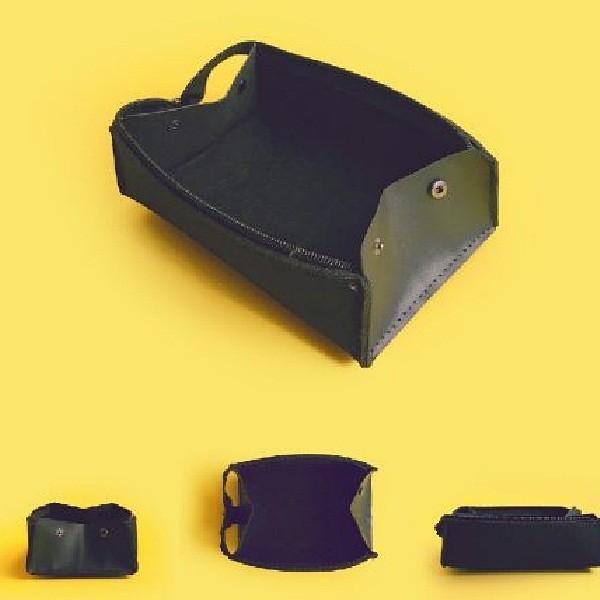 kawauso 大容量 形が変わる 3way ペンケース 筆箱 フェルト レザー 無地 ビジネス 仕事 薄型 小物いれ|kawauso|04