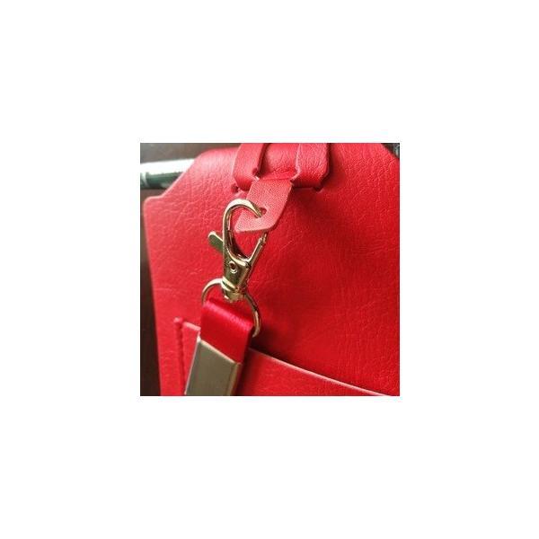 ID カードホルダーA7 ネックストラップ メモ帳  社員証 パスケース TODO(黒・茶色・赤) kawauso 10