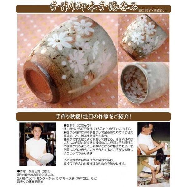 母の日 ギフト 2018  新茶 プレゼント 名入れ お茶80gと 秋桜 湯呑み セット 緑茶 煎茶 日本茶|kayamaen|03