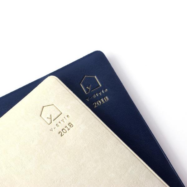 Y-Style ワーキングマザーの手帳 2018年 4月始まり B6 (ホワイトゴールド/ネイビー)|kazokushuno|08