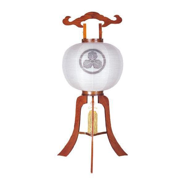 家紋入り提灯 盆提灯 盆ちょうちん ケヤキ 寿印(木製)|kb-hayashi|02