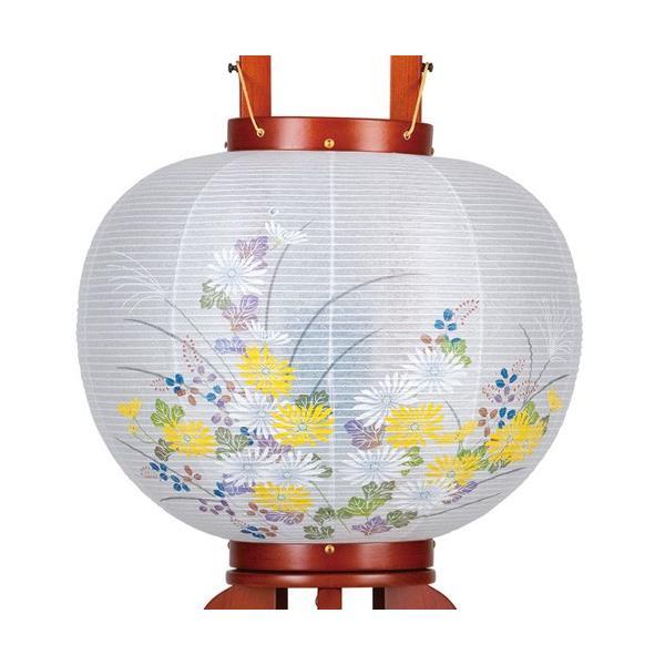 盆提灯 盆ちょうちん 一対入り 回転灯付き木製提灯 華のケヤキ 9号 ( 大内 ・ 回転兼用 )|kb-hayashi|03