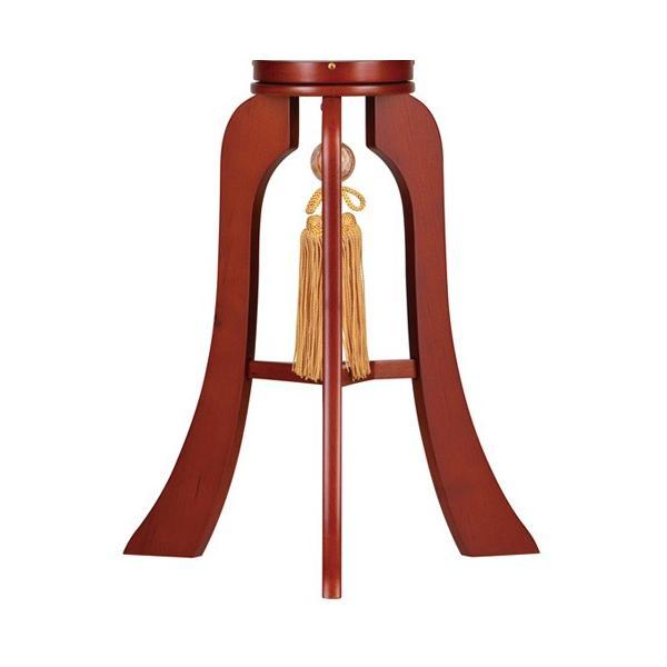 盆提灯 盆ちょうちん 一対入り 回転灯付き木製提灯 華のケヤキ 9号 ( 大内 ・ 回転兼用 )|kb-hayashi|04