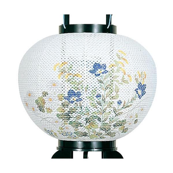 【一対入り】盆提灯 盆ちょうちん お盆提灯 回転灯付き提灯 回転 こもれび 11号(PC製)2475|kb-hayashi|04