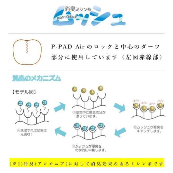 P-PAD_Air_D インナー マスク 抗菌 抗ウィルス 布マスク 日本製 インナーシート  立体 フィルター カバー|kbsb|10