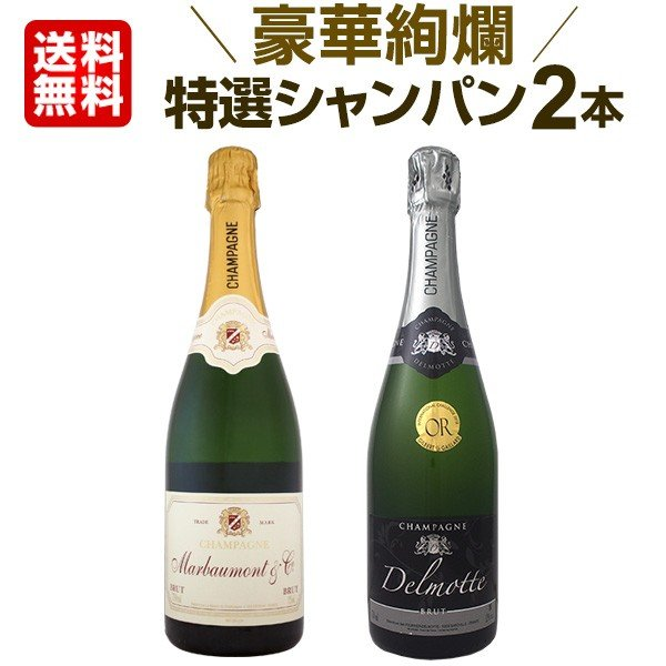 シャンパン2本セット 第24弾 スパークリングワインセット sparkling wine set Champagne|kbwine