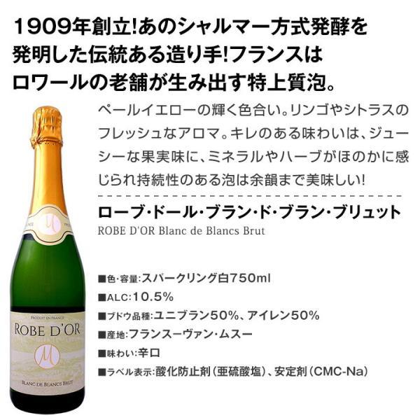 辛口スパークリングワイン6本セット 第62弾 sparkling wine set kbwine 05