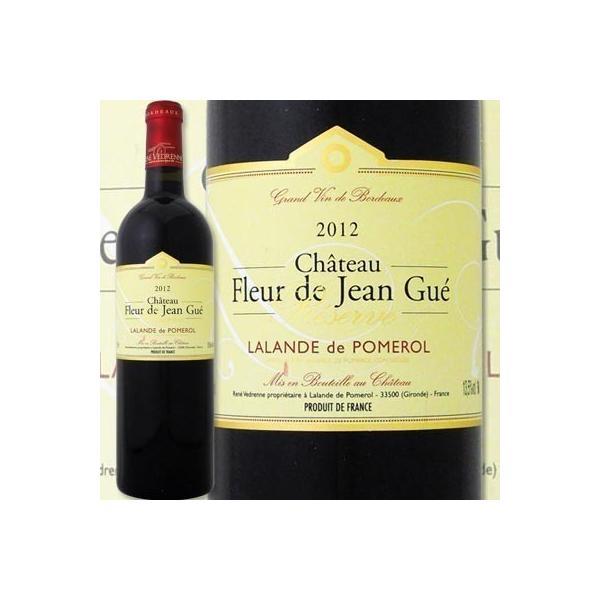 赤ワイン フランス・ボルドー シャトー・フルール・ド・ジャン・ゲイ・レゼルヴ 2012 出たぁ 幻の満点5つ星が待望の入荷 フランス  750ml フルボディ 辛口 wine|kbwine