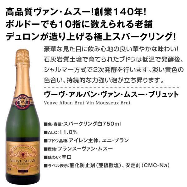 スパークリングワイン セット 第126弾 ベスト オブ スパーク 当店厳選 高級クレマンも入った極旨…|kbwine|04