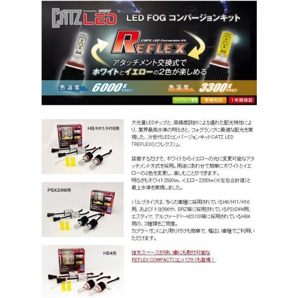 FET CATZ CLC01 REFLEX LEDフォグランプ専用コンバージョンキット H8/H11/H16【お取り寄せ】【リフレックス】|kcm-onlineshop|02