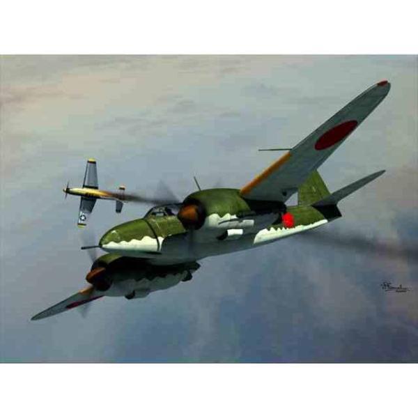 1/72 川崎 複座双発高高度戦闘機...