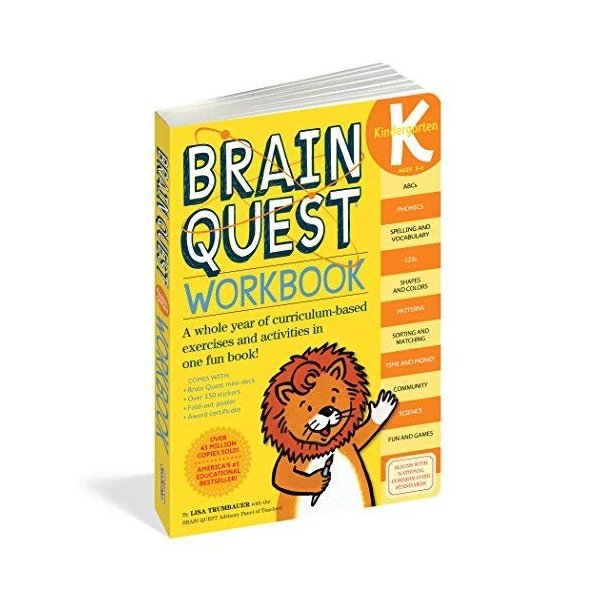 Brain Quest Workbook Kindergarten|kd-shop|01
