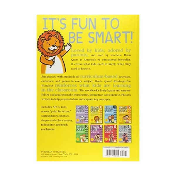 Brain Quest Workbook Kindergarten|kd-shop|02
