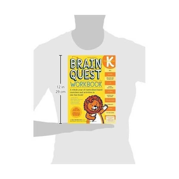 Brain Quest Workbook Kindergarten|kd-shop|03