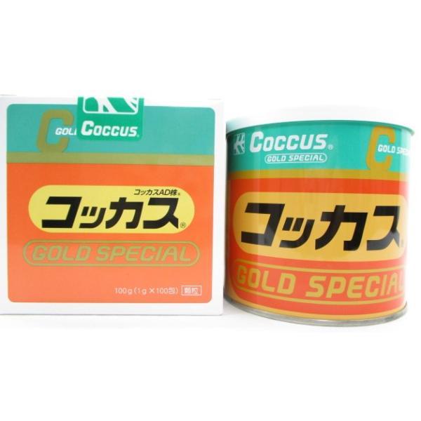 コッカスゴールドスペシャル 1缶 [最新品が最安値]アドバンス腸内細菌食品*送料無料|kdckdc