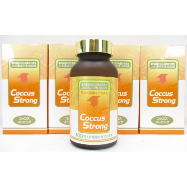 4瓶setコッカスストロング [最新品が最安値]アドバンス腸内細菌食品*送料無料 kdckdc