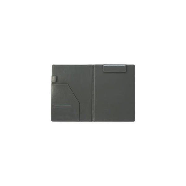 ベルポスト クリップファイル 二つ折りタイプ 本体色:ブラック クリップボード BP-5724-60