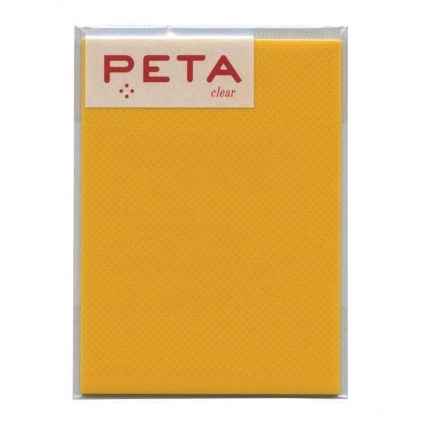 PETA/ペタ のり付箋 clear Lサイズ レモン  1736304