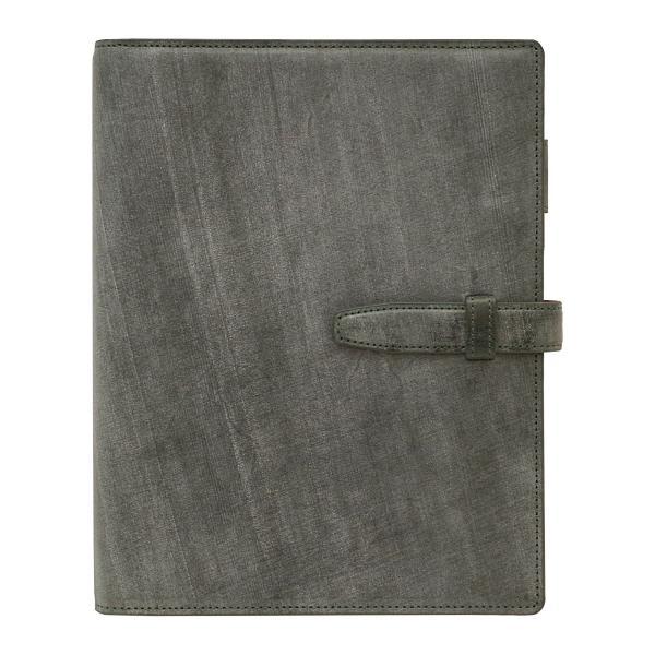 A5サイズ システム手帳 ブライドルレザー リング径20mm グリーン  JPB-3020-GR