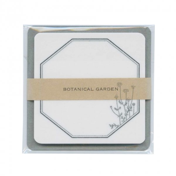 トレペの付箋 ボタニカルガーデン50枚入 フレーム+カモミール  HPSM-710