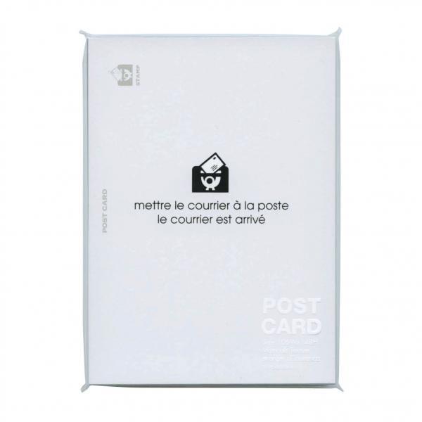 ポストカード ホワイト  PC2-P-01