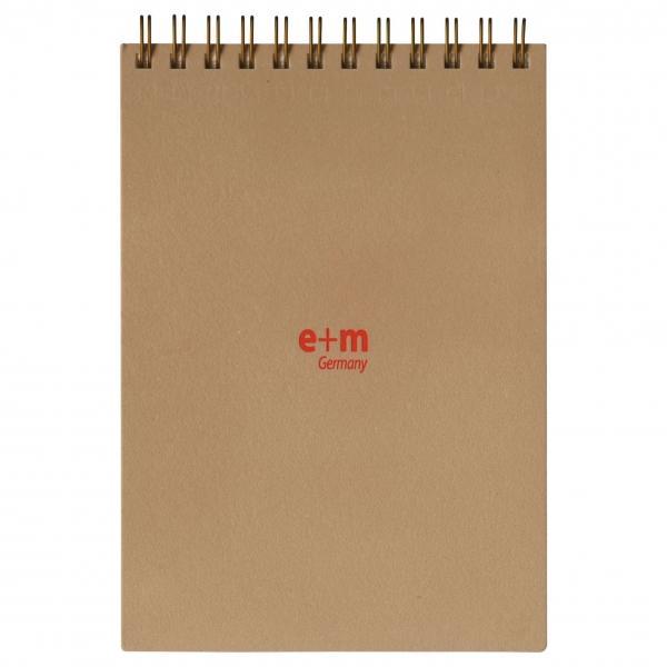 e+m A6ブランクパッド ベージュ  EBP-A6-01