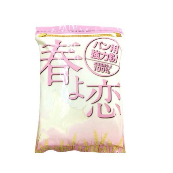 春よ恋 1kg (平和製粉) 強力粉 パン用小麦粉 / 北海道産 100% 小麦粉 国産 / 天然酵母 ハルヨコイ はるよこい / ホームベーカリー パン作り パン パン材料