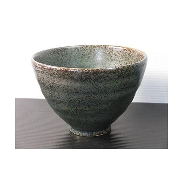 CW060B 唐津リップルご飯茶碗 青唐津