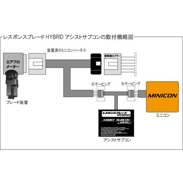 トヨタ ノアハイブリッド ZWR80G/W  HY-BRAINレスポンスブレードHYBRID アシストサブコンSET keepsmile-store 03