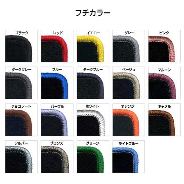 トヨタ ノア ZRR80G・ZRR85G・ZRR80W・ZRR85W RUGREX ウェービーフロアマット keepsmile-store 02